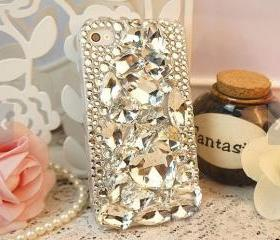 bling iphone 5c case, iphone 5s case ,rhinestone iphone 5 case , iphone 4 bling case ,bling iphone 4s case ,samsung s3 case crystal