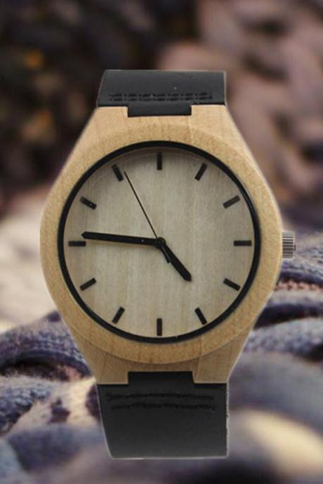 Wooden Bamboo Watch The Latest Fashion Watches Couple Tables